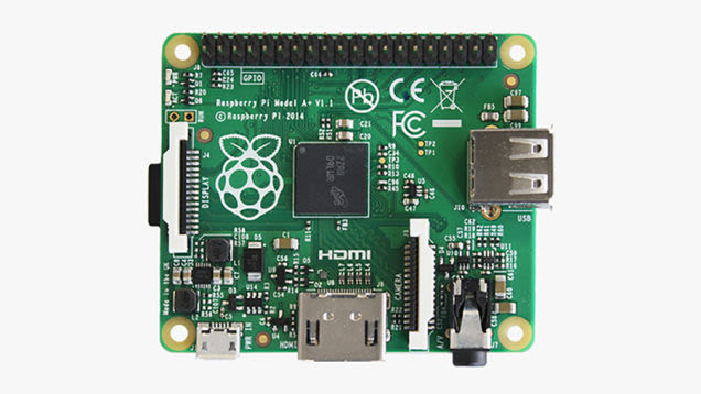 We just showing off some projects you can do with the Raspberry Pi